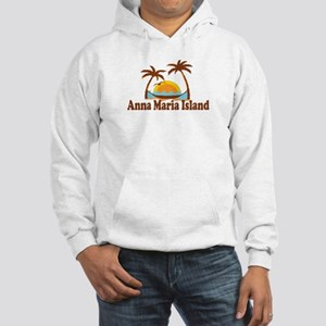 Anna Maria Island - Palm Trees Design. Hooded Swea