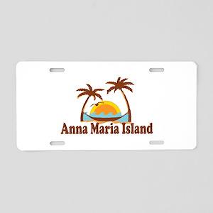 Anna Maria Island - Palm Trees Design. Aluminum Li