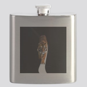 Tiger in the space Flask