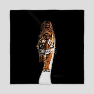 Tiger in the space Queen Duvet