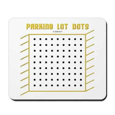 Parking Lot Dots Mousepad