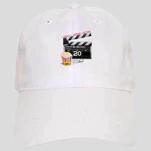 20th Birthday Hollywood Theme Cap