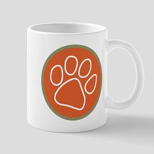 Paw print logo Mug