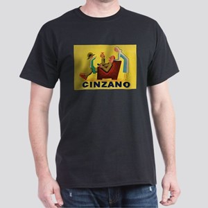 Cinzano, Beverage, Drink, Vintage Poster T-Shirt