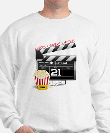 21st Movie Birthday Sweatshirt