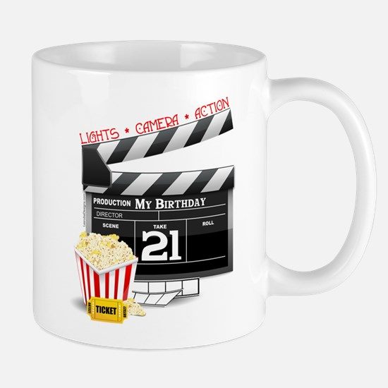 21st Movie Birthday Mug