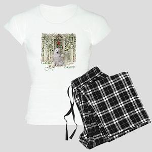 Samoyed Christmas Women's Light Pajamas
