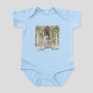 Samoyed Christmas Infant Bodysuit