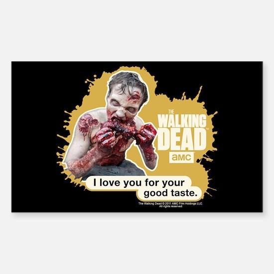 Good Taste Walking Dead Decal