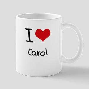 I Love Carol Mug