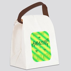Worlds Most - IM Canvas Lunch Bag