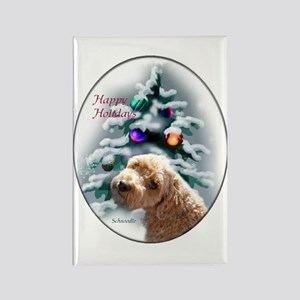 Schnoodle Christmas Rectangle Magnet (10 pack)