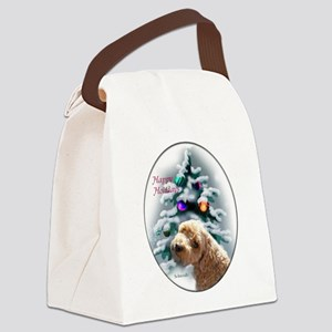 Schnoodle Christmas Canvas Lunch Bag