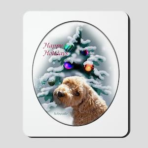 Schnoodle Christmas Mousepad