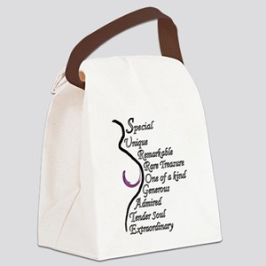 A Surrogate Is... Canvas Lunch Bag