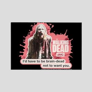 Brain Dead Walking Dead Magnet