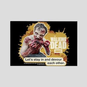 Devour Walking Dead Magnet
