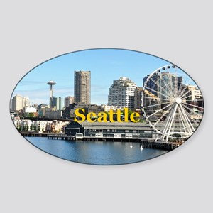 Seattle Sticker (Oval)