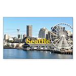 Seattle Sticker (Rectangle 10 pk)