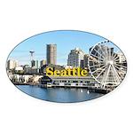 Seattle Sticker (Oval 50 pk)