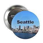 "Seattle 2.25"" Button"