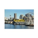 Seattle Rectangle Magnet (100 pack)