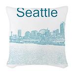 Seattle Woven Throw Pillow