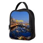 Seattle Neoprene Lunch Bag