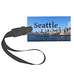 Seattle Large Luggage Tag