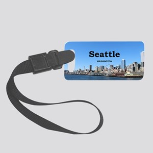 Seattle Small Luggage Tag