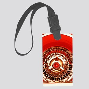 Red T-Bird Luggage Tag