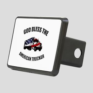 American Trucker Rectangular Hitch Cover