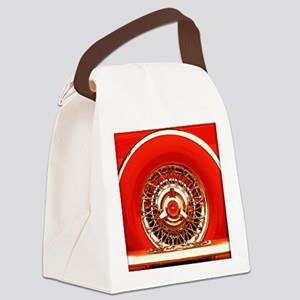 Red T-Bird Canvas Lunch Bag