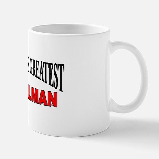 """The World's Greatest Signalman"" Mug"