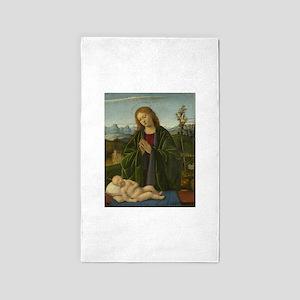 Marco Basaiti - Madonna Adoring the Child 3'x5' Ar