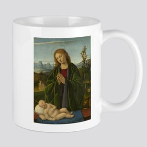 Marco Basaiti - Madonna Adoring the Child Mug