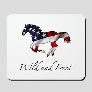 American Horse Mousepad