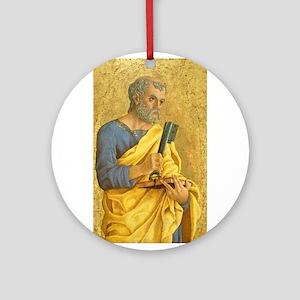 Marco Zoppo - Saint Peter Ornament (Round)