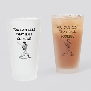 baseball slugger Drinking Glass