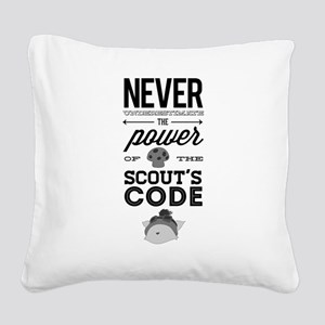 Teemo The Swift Scout Square Canvas Pillow