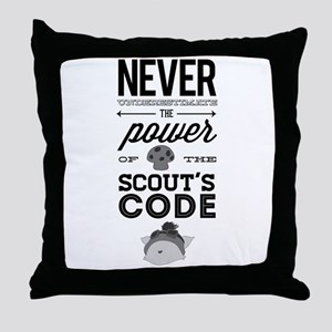 Teemo The Swift Scout Throw Pillow