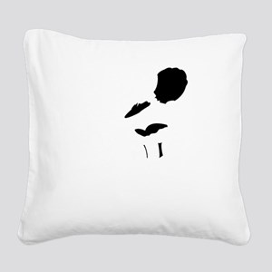Gothic Orianna Square Canvas Pillow