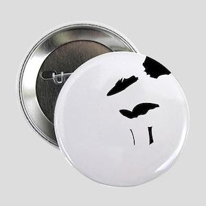"""Gothic Orianna 2.25"""" Button"""