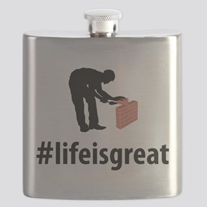 Bricklayer Flask