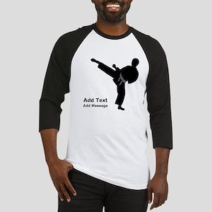 Martial Arts Baseball Tee