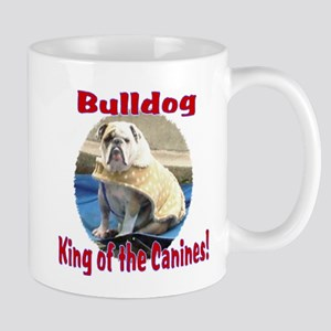 Bulldog, King of the Canine Mug
