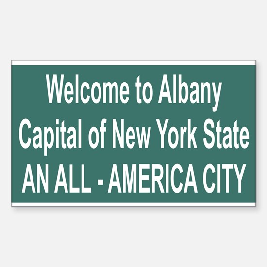 Albany Rectangle Decal