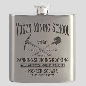 Yukon Mining School Flask