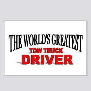 """""""The World's Greatest Tow Truck Driver"""" Postcards"""