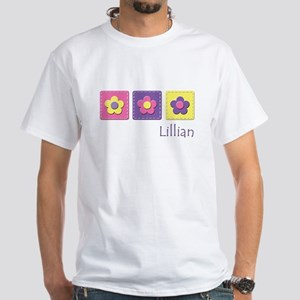 Daisies - Lillian White T-Shirt